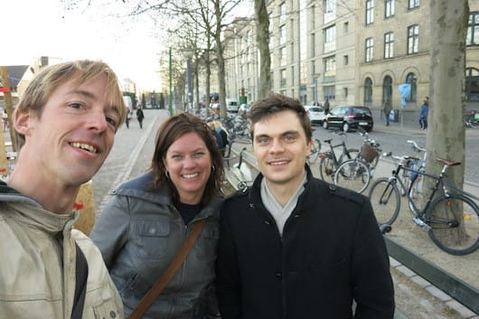 Meeting our Brussels Spotter Davy on the streets of Copenhagen!