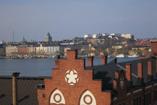 Beautiful Stockholm - view from Monteliusvägen