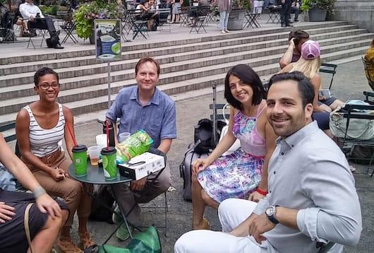 Milena, Craig, Marina & Jon!