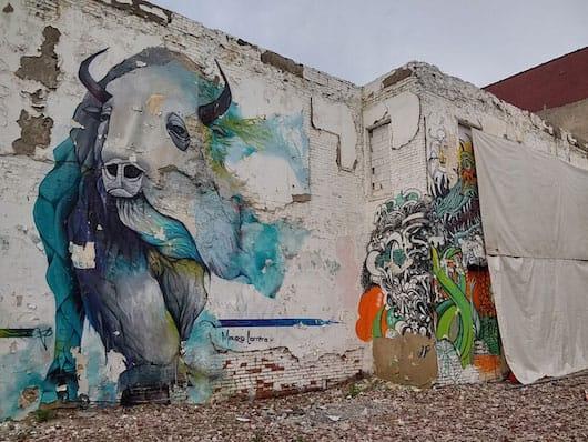 Street art everywhere!