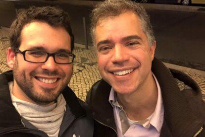 Geneva Spotter Andras visiting Claudio in Lisbon