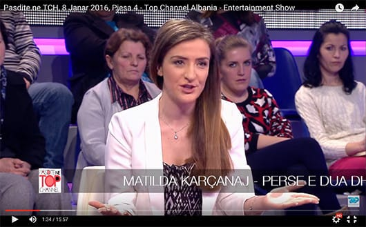 20160125-Matilda-Tirana-TV