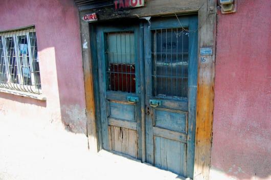 Antalya door (by Melissa Maples)