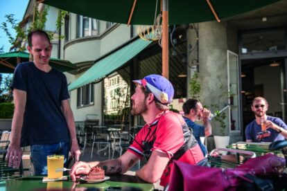 Discovering Bern's hidden gems by bike