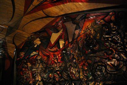 Polyforum Siqueiros - Mexico City (by Omar Bárcena Flickr)