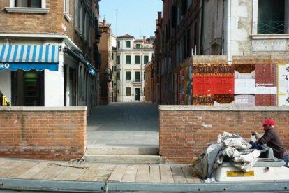 empty street in Venice