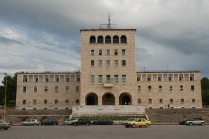Korpusi Tirana (image by xiquinhosilva)