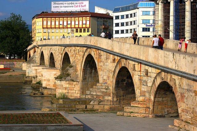 Skopje Stone Bridge - by Antti T. Nissinen (flickr.com)