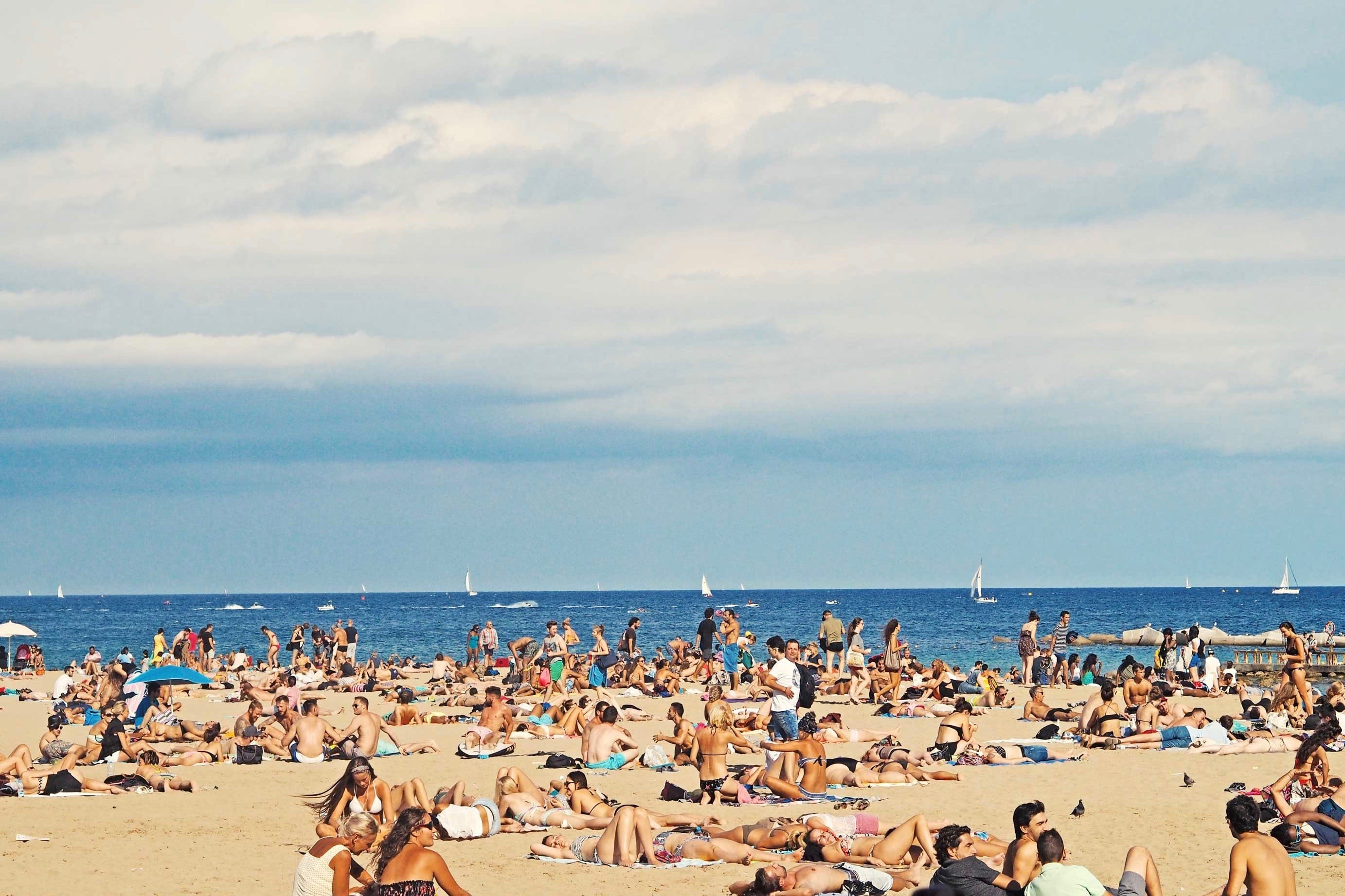 Barcelona Beach Spotted By Locals