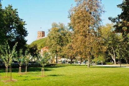 Bernardinu Sodai Park Vilnius