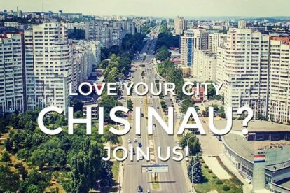Blog about your favorite spots in Chișinău!