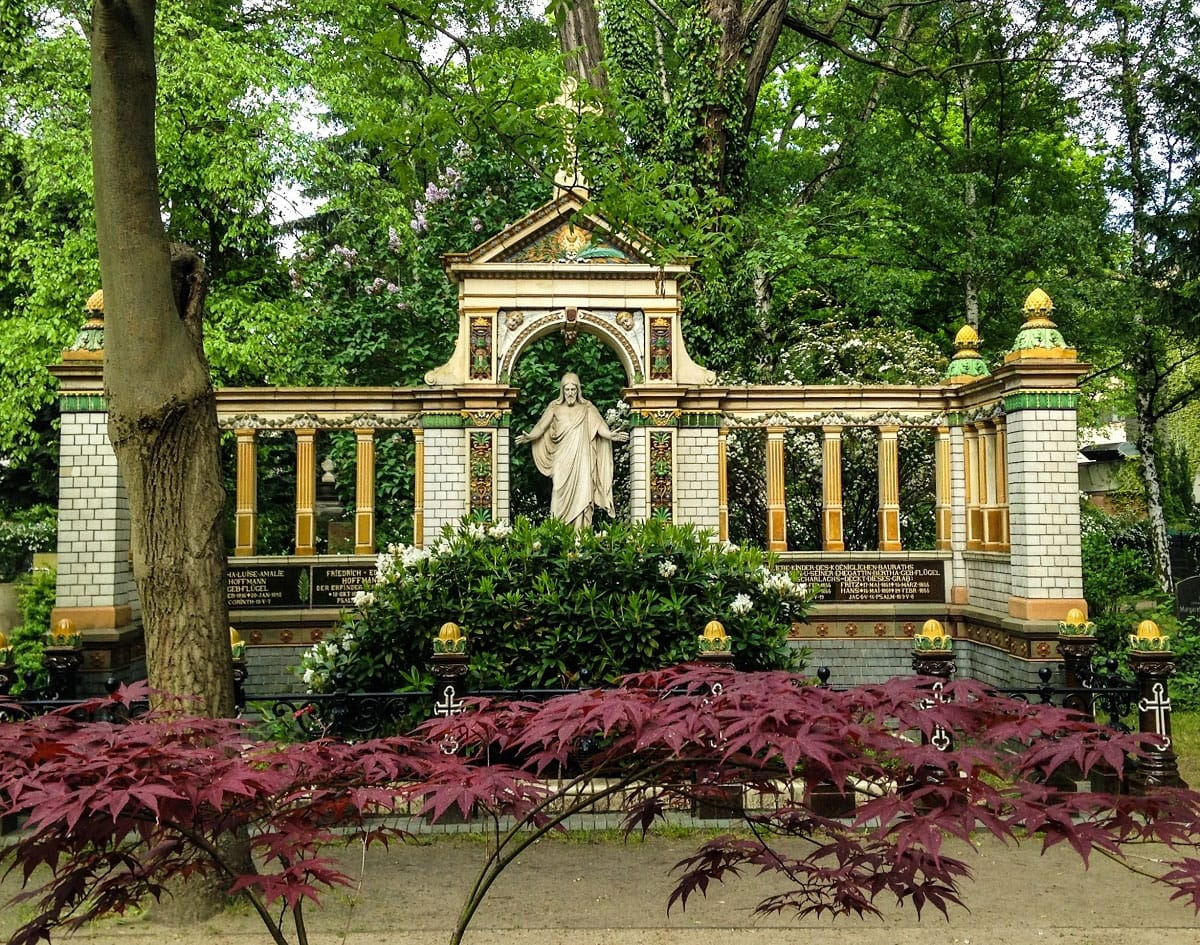 Dorotheenstadt Cemetery - by Edoardo Parenti