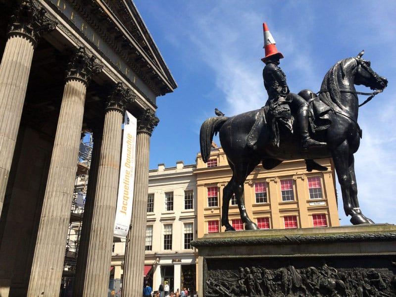 Duke of Wellington Glasgow (by Gill Davies)