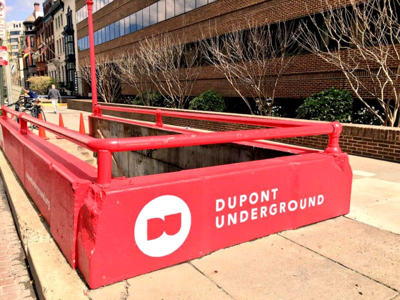 Dupont Underground (by Laetitia-Laure Brock)