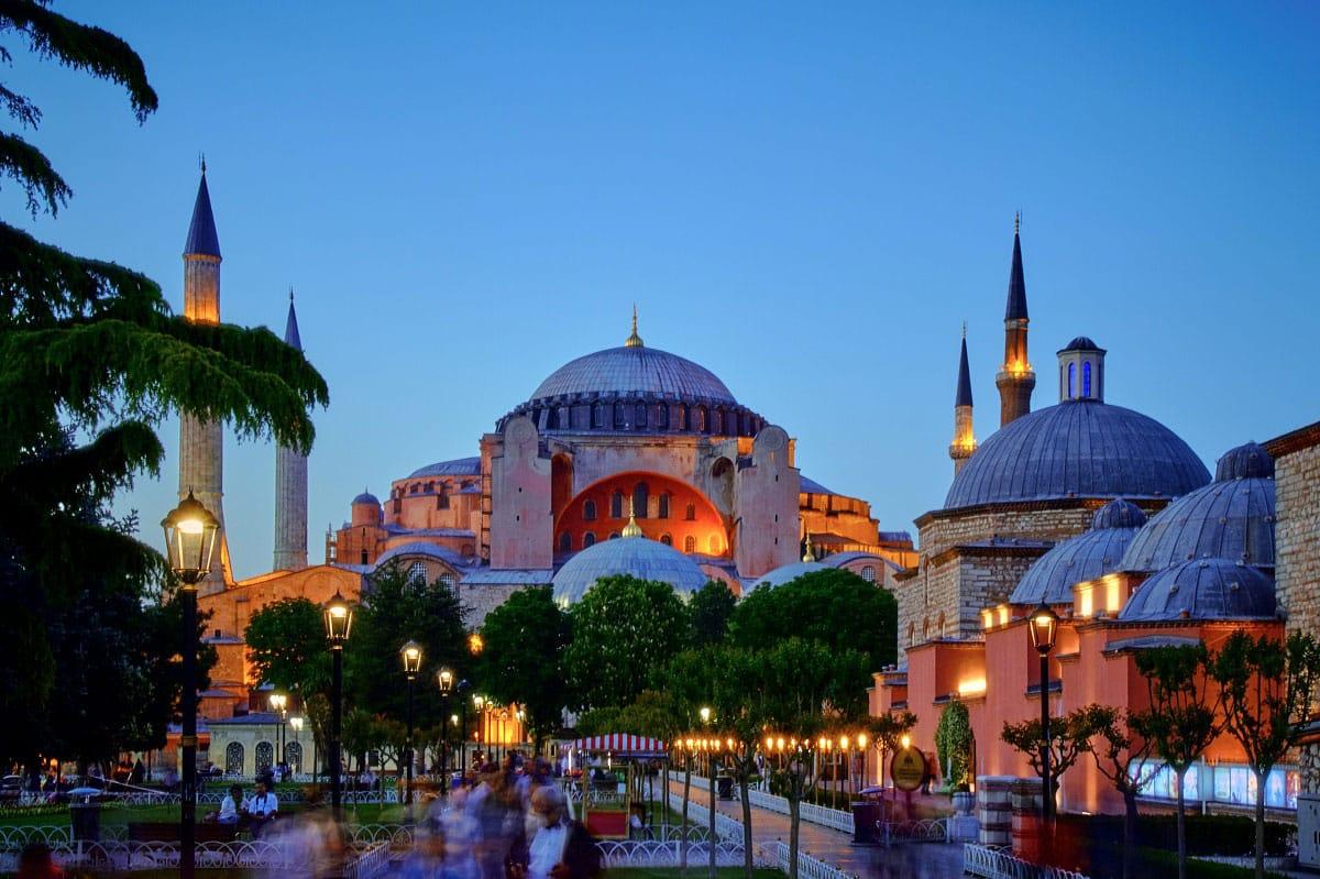 Hagia Sophia - by Pedro Szekely