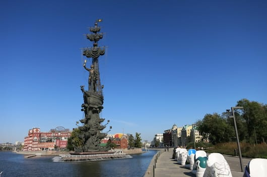 Peter the great statue Moscow - love it or hate it