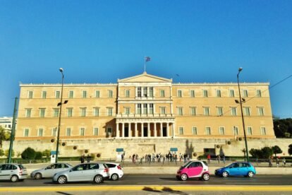 The Greek Parliament - by Edoardo Parenti