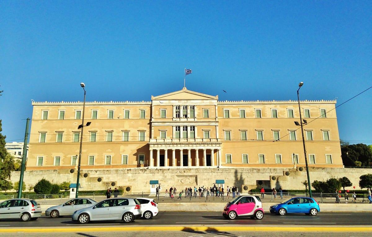 The Greek Parliament - by Edoardo Parenti