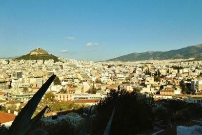 View of Athens - by Edoardo Parenti