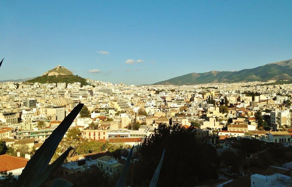 View of Athens - by Edoardo Parenti