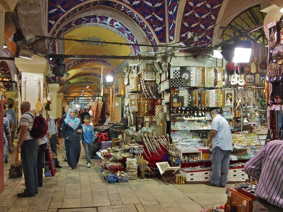 Inside the Grand Bazaar - by Stew Dean