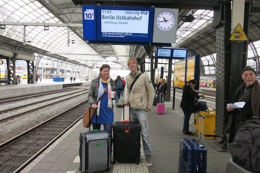 Day 1 of our interrail trip!
