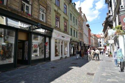 Ljubljana street view