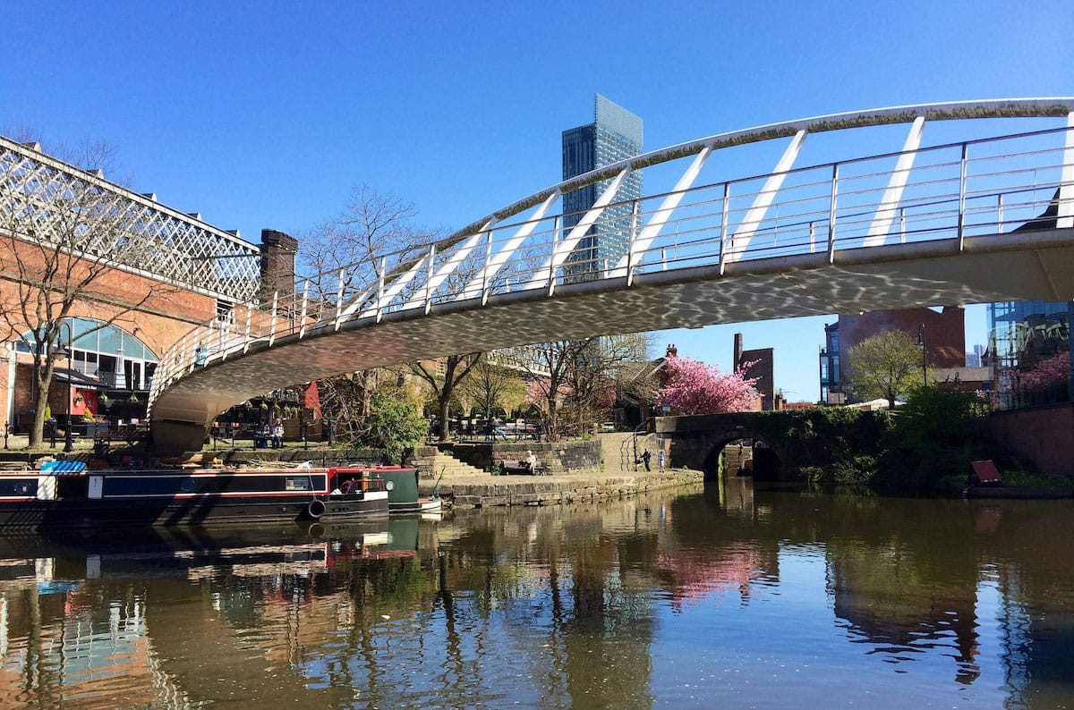 Manchester - Castlefield in Sping - by Stacey MacNaught
