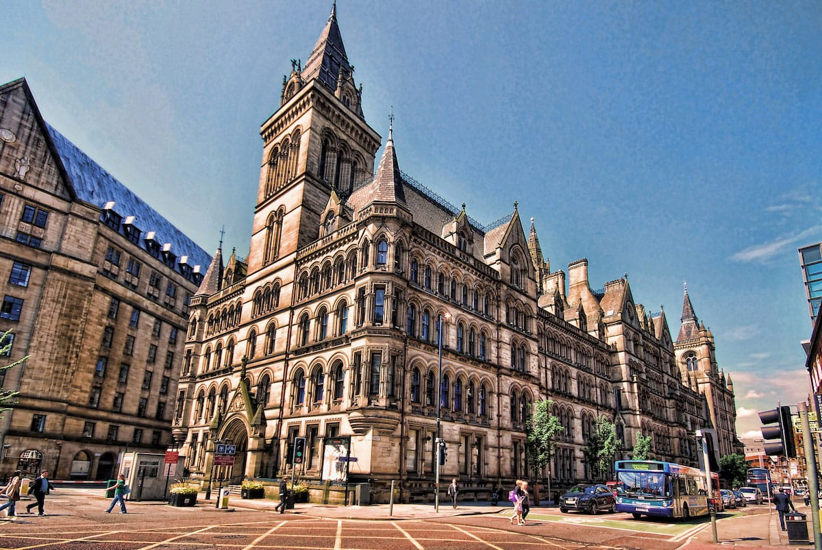 Manchester Town Hall - by Stephen