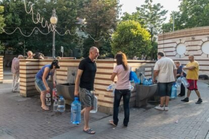 Mineral water of Sofia by Boyko Blagoev