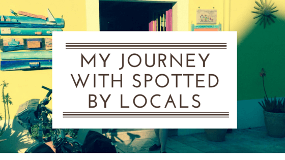 My journey with spotted by locals