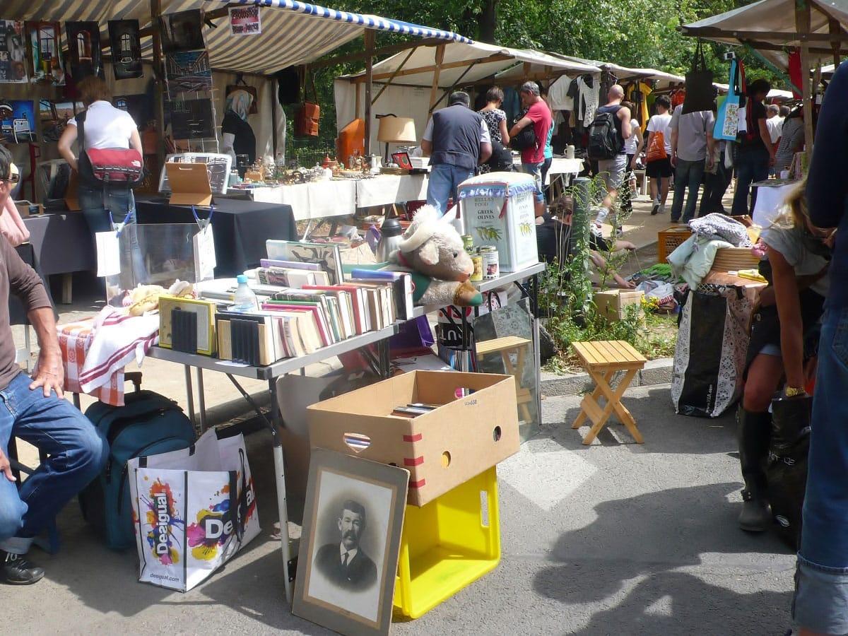 Nowkoelln Flowmarkt - by Sharon Mertins