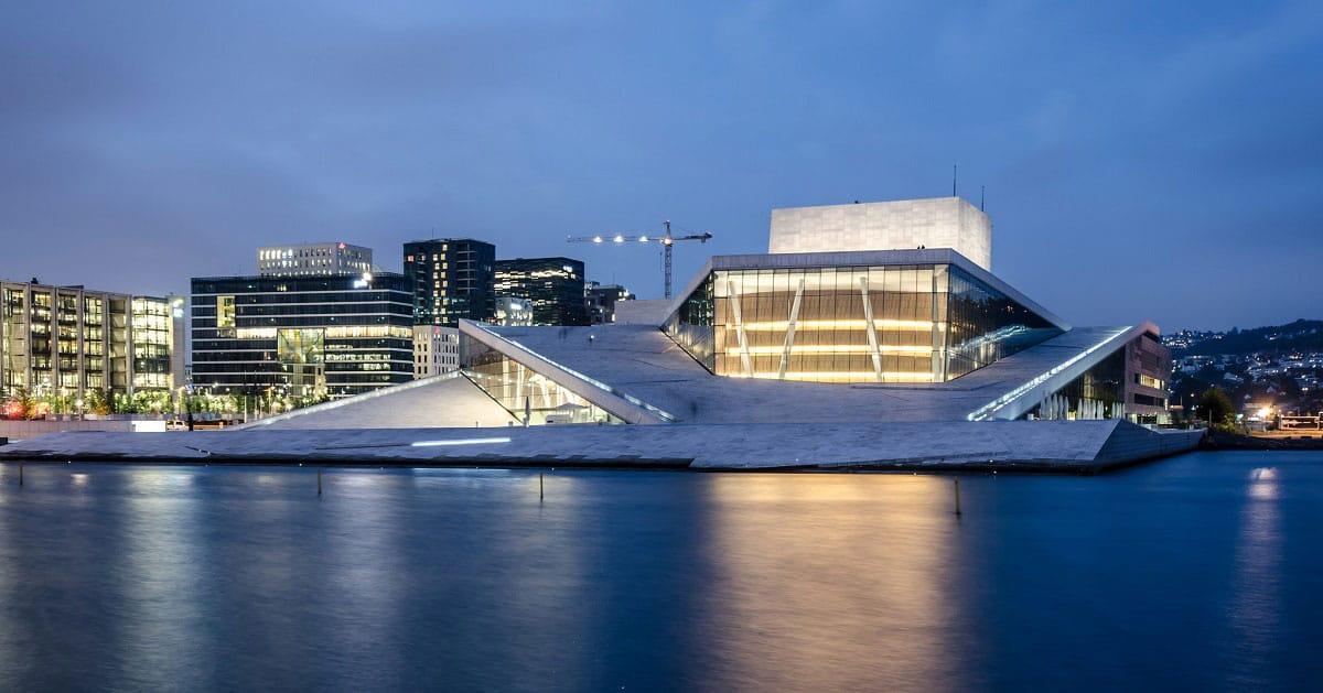Oslo Opera House - by Tobias Van Der Elst