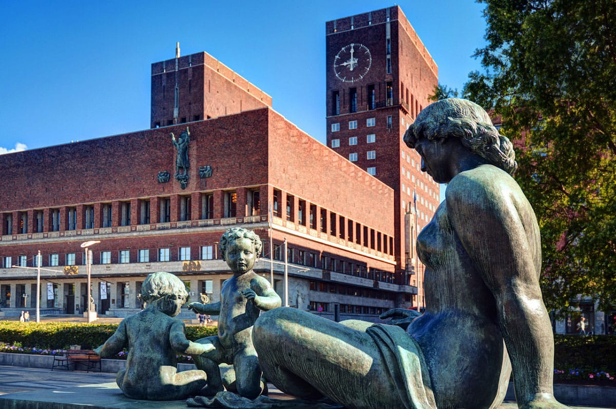 Oslo's City Hall - by George Rex