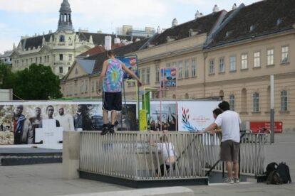 Parkour Vienna