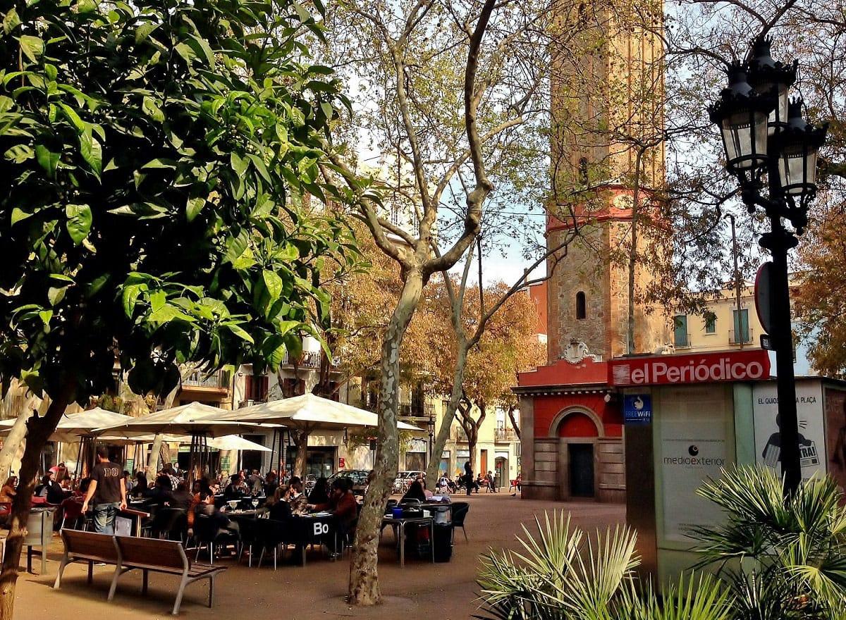 Plaça de la Vila de Gràcia- by Sol Baratech