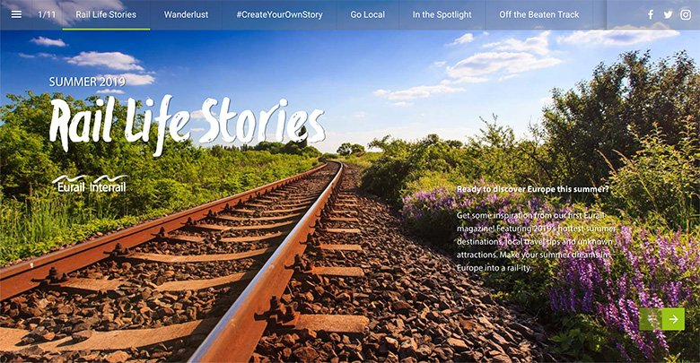 Our column in the new Eurail Magazine