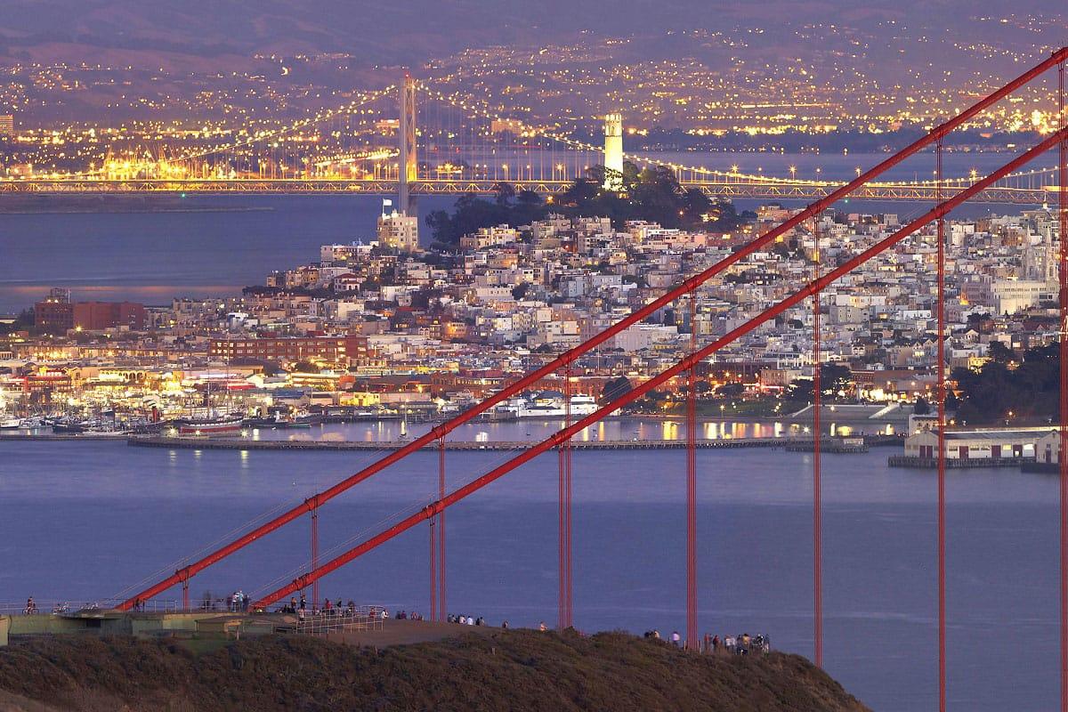 San Francisco City Lights - by Patrick Smith (flickr.com)