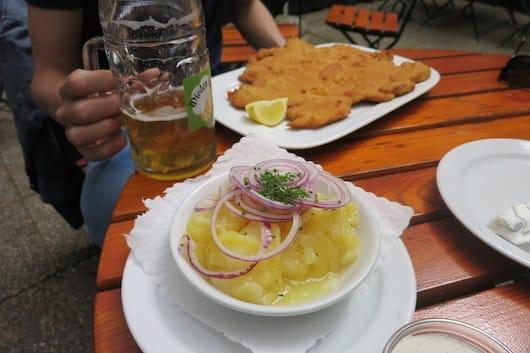 Schitzel at Wieden Bräu