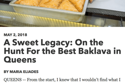 CUlinary Backstreets article