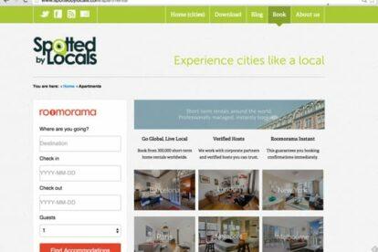 Screenshot-Roomorama-page