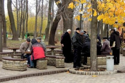 Shevchenko park (by Alex Bykov)