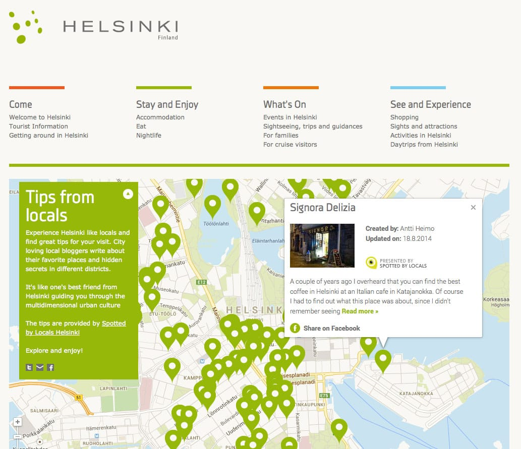 Spotted by Locals Visit Helsinki : City of Helsinki's official website for tourism and travel information 2014-09-23 17-06-36