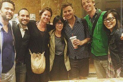 Toronto Spotters (minus Sarah) & us