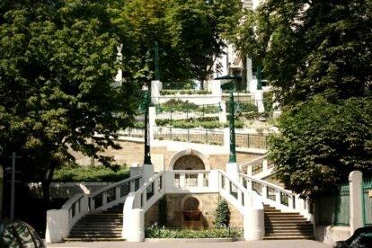 Strudlhofstiege Vienna (by Sabrina Grohsebner)