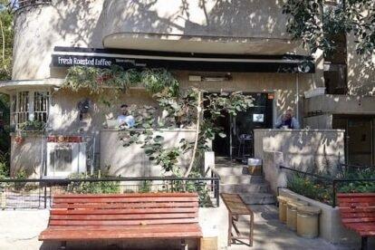 Great coffee culture in Tel Aviv