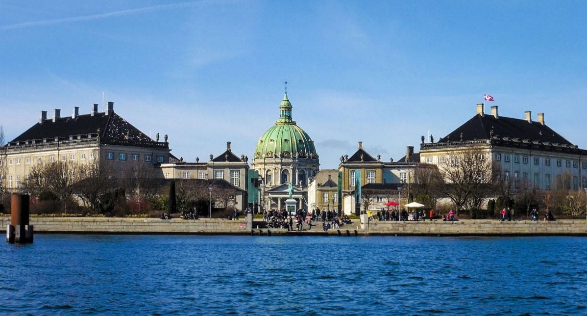 The Amalienborg Palace- by Dafydd Vaughan
