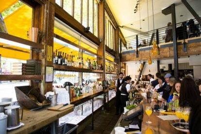 The Bar at Zuni Cafe - by Bill Holmes (flickr.com)