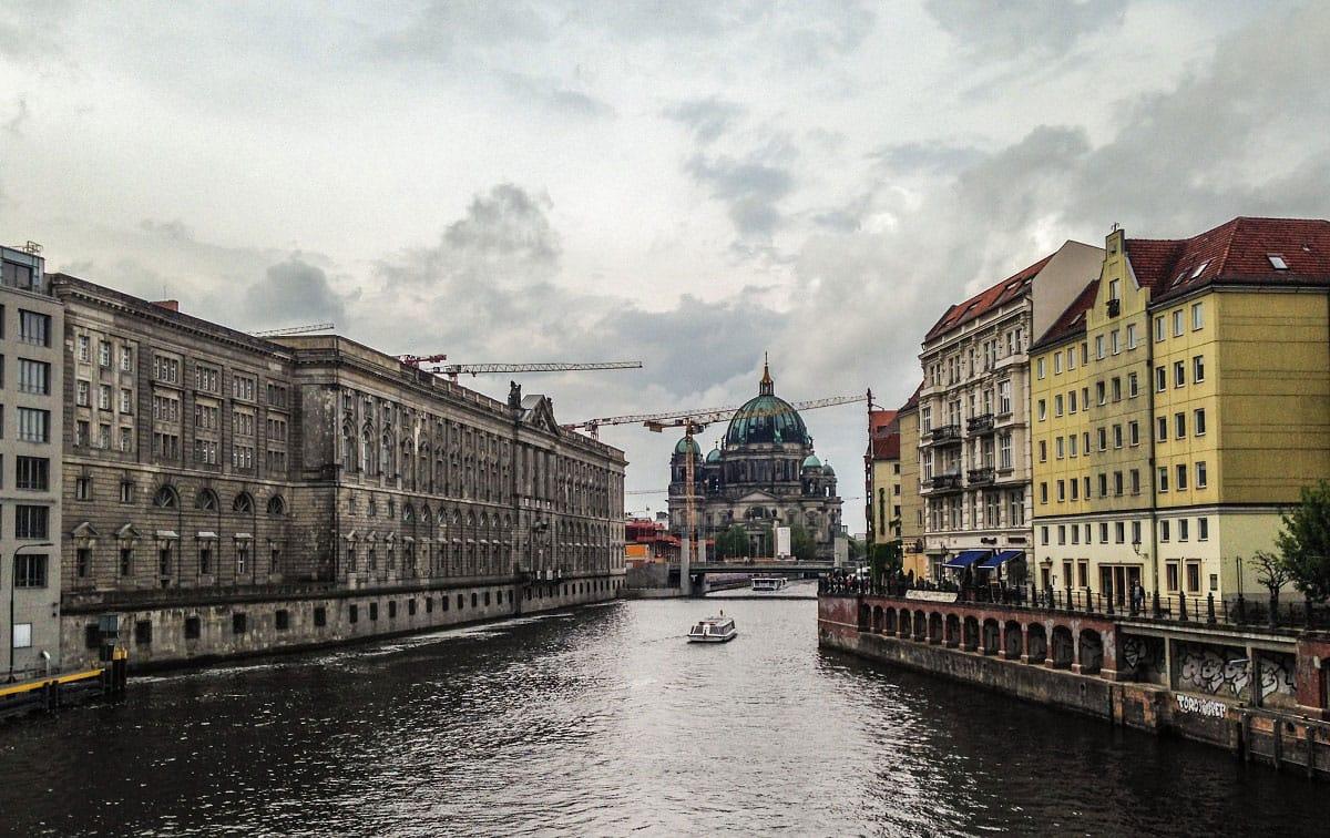 The Berliner Dom from the Mühlendammbrücke - by Edoardo Parenti