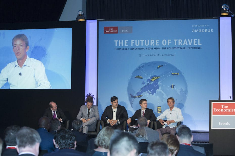Panel discussion The Economist Future of Travel 2015